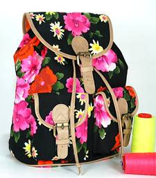 Buy Neon Floral Backpack backpack online