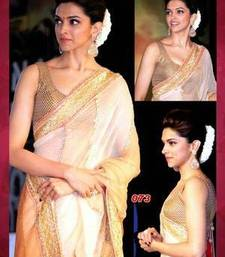 Buy Bollywood replica deepika padukone chennai express saree deepika-padukone-saree online