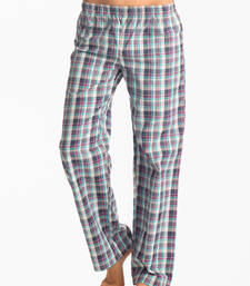 "Buy tartan aqua purple ""flirty checks"" pajama nightwear online"