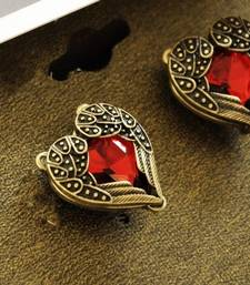 Buy Rhinestone Embellished Sweetheart Earrings(CFE0039) Other online