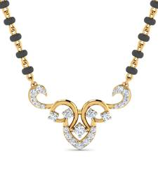 Buy 0.25ct diamond 18kt gold mangalsutra other-gemstone online