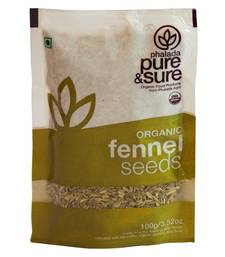 Buy Organic Fennel Whole-200 Gm masala-spice-mix online