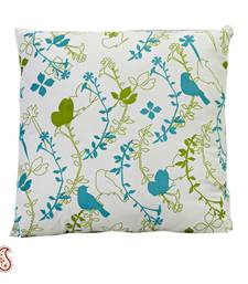 Buy Meadow Print Cotton Cushion Cover with Filler gifts-for-mom online
