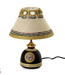Buy Handcrafted Worli painted Terracotta Lampshade gifts-for-mom online