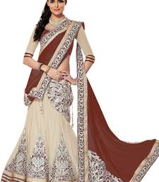 Buy Multicolor Silk embroidery unstitched lehenga choli multicolor-lehenga online