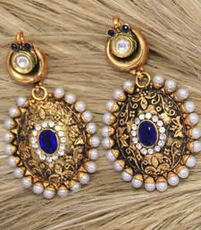 Buy antiqueearringno128a danglers-drop online