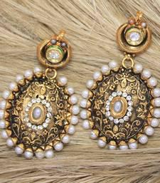 Buy antiqueearringno128c danglers-drop online