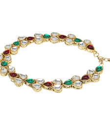 Buy Anklets for girls payal for women kundan pearl fashion anklet anklet online