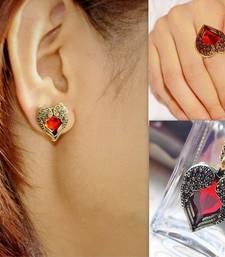 Buy Rhinestone Heart Set necklace-set online
