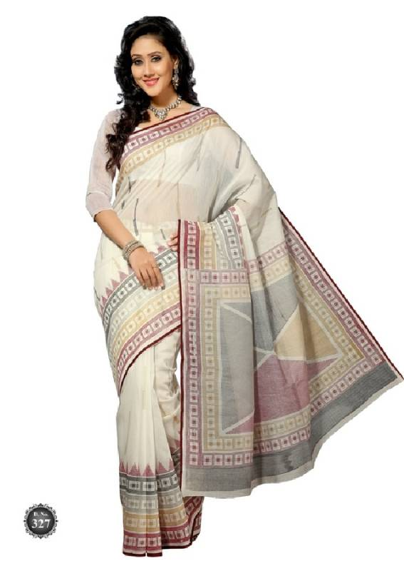 Ks327 Cotton Saree Online