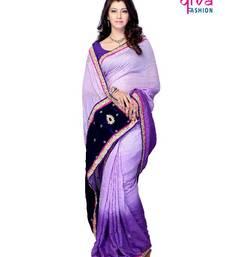 Buy Evening party wear saree. art-silk-saree online