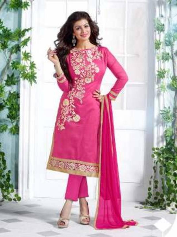 Buy Indian Designer Bollywood Partywear Pink Salvar Kameez
