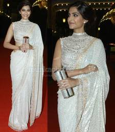 Buy Sonam kapoor Indian traditional bollywood saree, designer saree, party wear saree, facny saree. sonam-kapoor-saree online