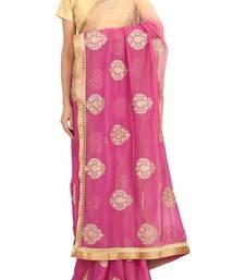 Buy RAAS SHIMMER Beige Sarees shimmer-saree online