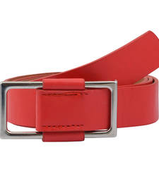 "Buy "" Red Color"" Belt Combo For Womens gifts-for-sister online"