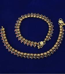 Buy antiquepayalno248 anklet online
