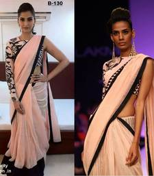 Buy Bollywood Replica Soonam kapoor one sleeve saree sonam-kapoor-saree online