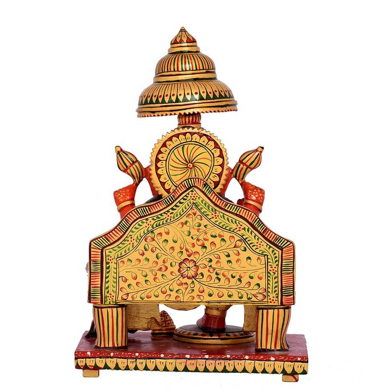 Buy multi color good luck ganesh statue for home decor for Good luck home decor