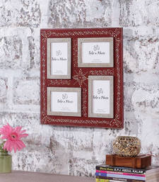 Buy Photo Frame 4x6 16 Inch X 16 Inch Photo Collage | Textured Frame ... photo-frame online