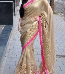 Buy elli arvam mandira besi chiku saree crepe-saree online