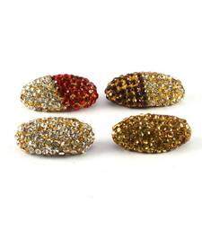 Buy Treditional stone sari pin brooch online