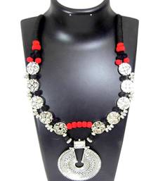 Buy Multicolor silver plated necklaces collar-necklace online