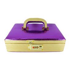 Buy Goldencollections Violet Jewellery Box jewellery-box online