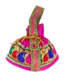 Buy Goldencollections Causal Hand Pouch potli-bag online