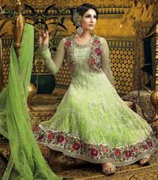 Buy Green Anarkali Suit indian-dress online