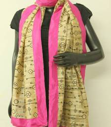 Buy Tussar Silk stole stole-and-dupatta online