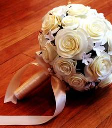 Buy Artificial flower Bouquet+Bridal artificial-flower online