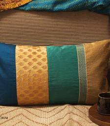 Buy Cushion cover - Teal long  pillow-cover online