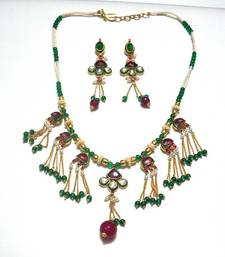 Buy Exclusive Designer Kundan Neckpiece Necklace online