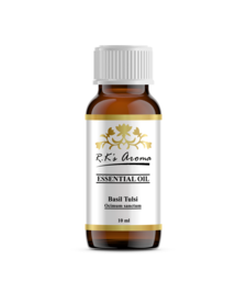 Buy Rks Aroma Basil (Tulsi) Essential Oil - 100% Pure & Natural, 10 ml essential-oil online