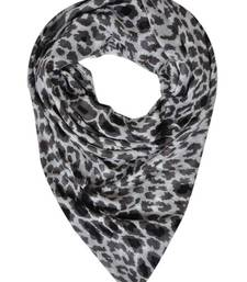 Buy ANIMAL PRINTED STOLE BY ELABORE stole-and-dupatta online
