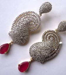 Buy Vatika AD Earrings - DSC04710 jhumka online