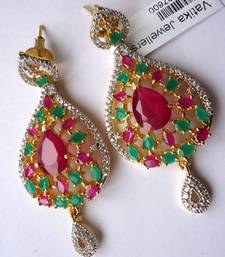 Buy Vatika AD Earrings -DSC04717 danglers-drop online