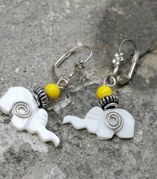 Buy Elephant Swirl Earrings danglers-drop online