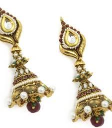 Buy Huge Jhumki Earring With Tassels jhumka online