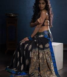 Buy Aavaranaa Crepe sarees crepe-saree online