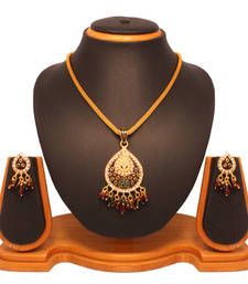 Buy Vendee Fashion Drop Pendant Set 8050 Pendant online