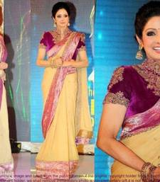 Buy Designer Georgette Saree      Tm66 sridevi-saree online