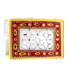 Buy Marble Pen Stand Square other-home-furnishing online