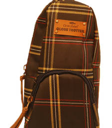 Buy Clean Planet GlobeTrotter Classic Mini Backpack Accessory D.Brown Checks backpack online