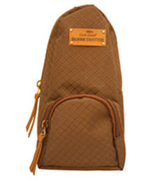 Buy Clean Planet GlobeTrotter Classic Mini Backpack Accessory Textured Brown backpack online