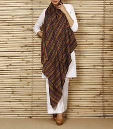 Buy Multicolored Woollen Shawl shawl online