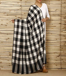 Buy Pashmina chequeed shawl with overall  booties shawl online