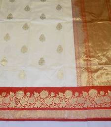 Buy FZ 1003   Saree handloom pure silk. banarasi-silk-saree online