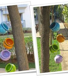 Buy Multicolored Garden Terracotta Hanging pot online