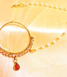 Buy ruby stone nose ring nose-ring online